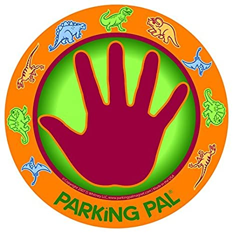 Fine Parking Pal Car Magnet Parking Lot Safety For Children Dino Pal Onthecornerstone Fun Painted Chair Ideas Images Onthecornerstoneorg