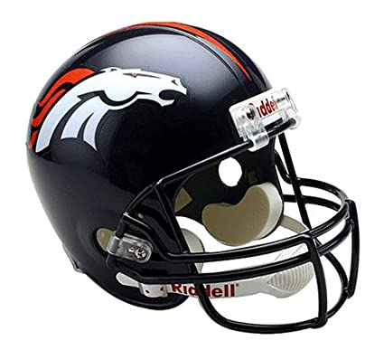 Denver Broncos 1967-96 Throwback Riddell Deluxe Replica Helmet