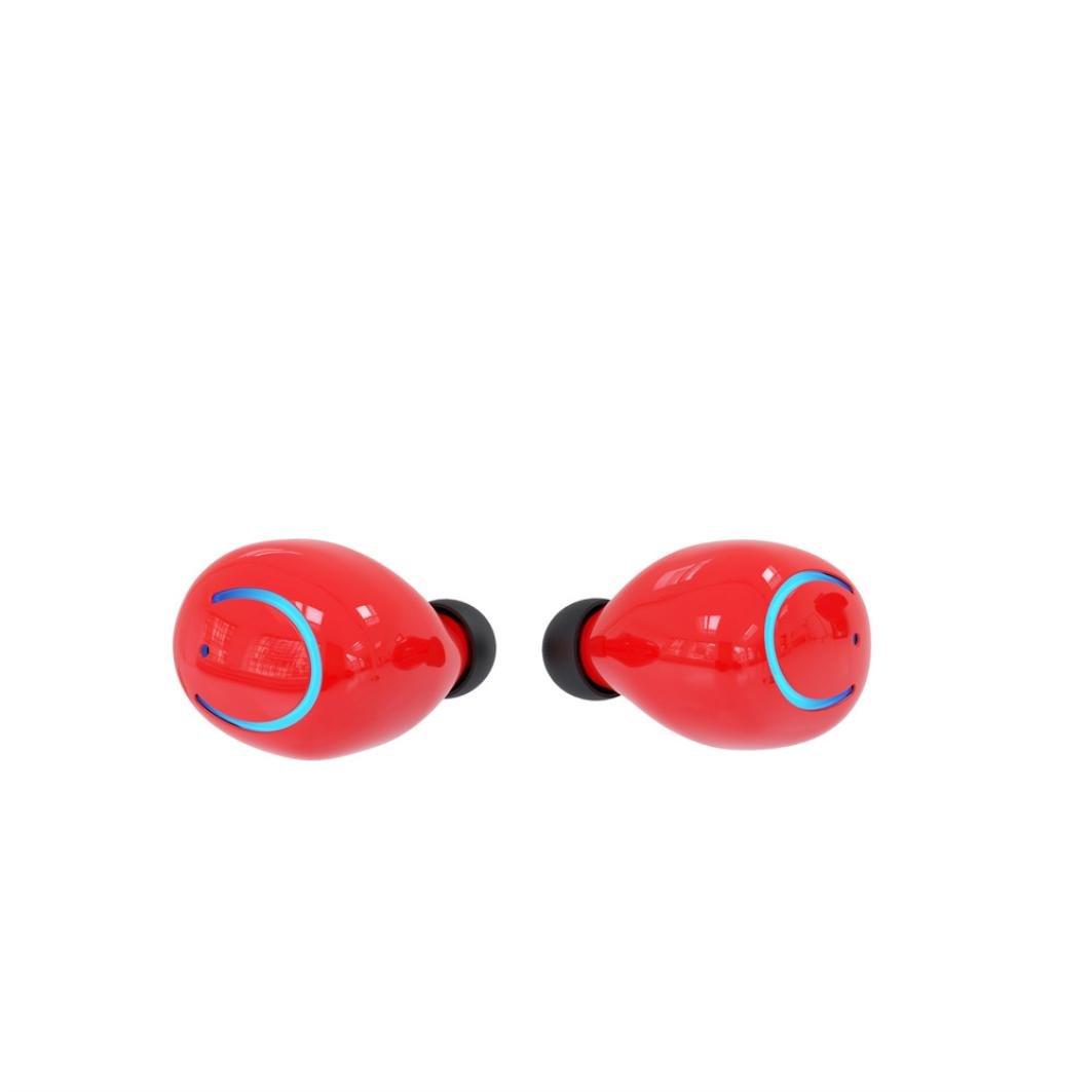 Xshuai Lange Arbeitszeit Mini Neue TWS Q18 Drahtlose Wasserdichte Bluetooth Headset Stereo HiFi Universal Kopfh/örer F/ür iPhone Google Pixel Samsung LG Tabletten Wei/ß