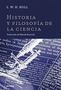 Historia y filosofía de la ciencia par Hull
