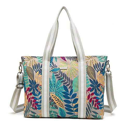 KAYOND Laptop Bag Tote Bag Women Multifunctional Handbag for Work Travel Shopping Duffel Beach Waterproof Shoulder Bag Compatible Notebook,MacBook,Ultrabook,Chromebook,Up to 15.6
