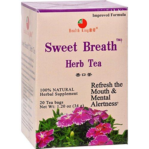 Sweet Breath Herb Tea - Health King Sweet Breath Herb Tea - 20 Tea Bags