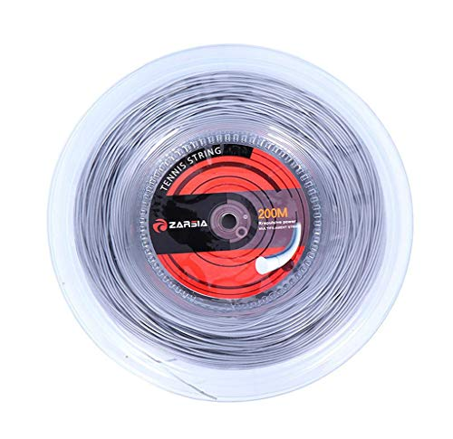 - Blingdots Best Tennis Racket String (660 Foot Reel) - Durable, Spin, Power, Feel, and Control (Black), Gauge Tennis Racket String in Black Color (Best String for Power and Comfort)