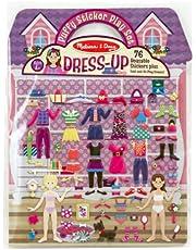 Melissa & Doug Puffy Sticker Activity Book: Dress-Up - 76 Reusable Stickers