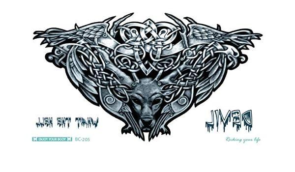 Tatuaje de Toro Bull Tattoo Negro Fake Tattoo bc205 Arm Tattoo ...