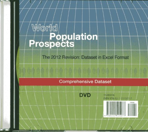 World Population Prospects (DVD-ROM): The 2012 Revision - Comprehensive Dataset in Excel (Population Studies) by United Nations