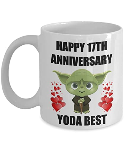 Amazon 17 Year 17th Wedding Anniversary Gifts For Yoda Best