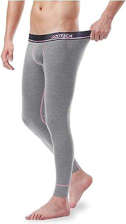 Jinqiuyuan Ropa Interior térmica de algodón for Hombres Pantalones ...