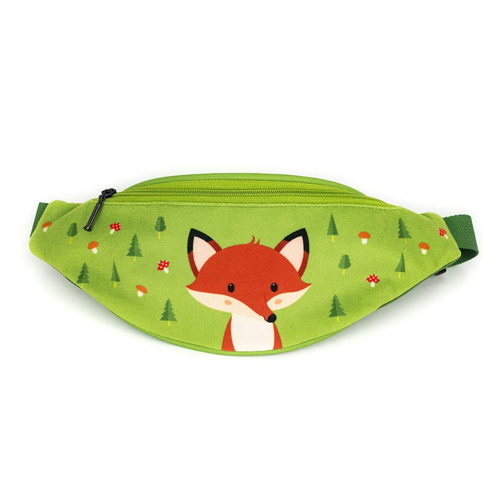 Forest Fox Collection sac banane pour enfant avec renard// sac banane pour petit gar/çon// sac de hanche pour petit gar/çon//sac de taille pour petit gar/çon// premium quality made in Europe