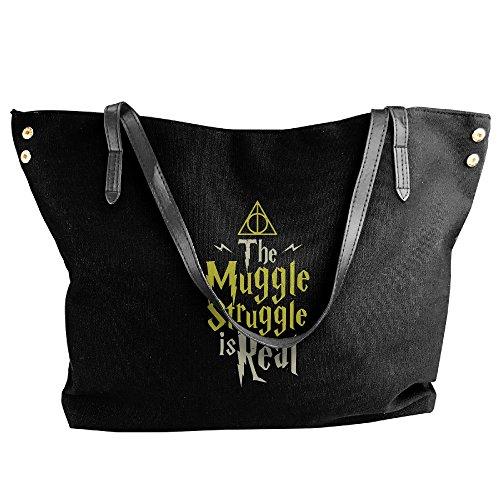 Harry Potter Muggle Handbag Shoulder Bag For Women (Female Harry Potter Costume)