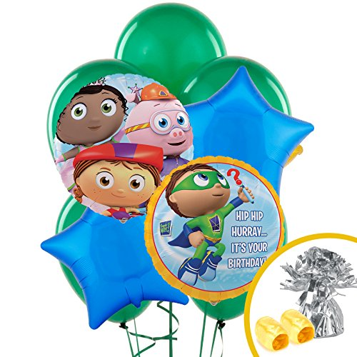 (Super Why Party Supplies - Balloon Bouquet )