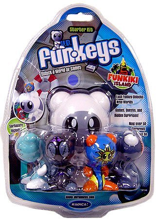 Funkeys Starter Kit - U.B. Funkeys Funkiki Islands Starter Kit (Includes 4 Figures)