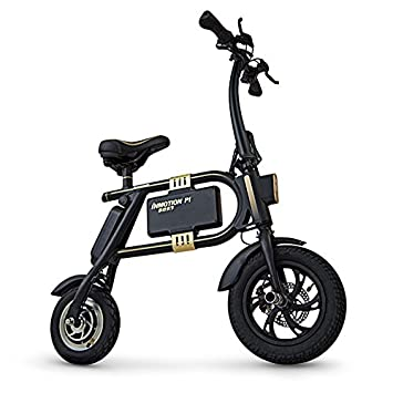 InMotion P1F - Mini-Scooter Unisex, Color Negro y Dorado