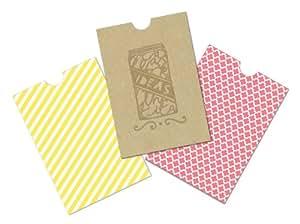 K&Company Mini Bags for Paper Craft, Handmade Printed