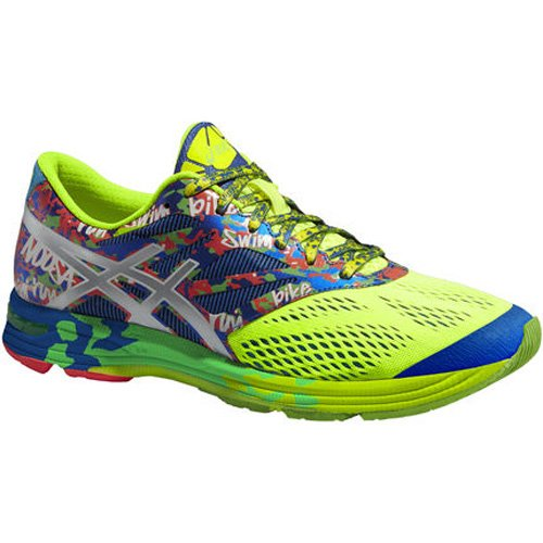 ASICS Gel-Noosa Tri 10 - Zapatillas de deporte para hombre Amarillo (Flash Yellow / Lightning / Blue 791)