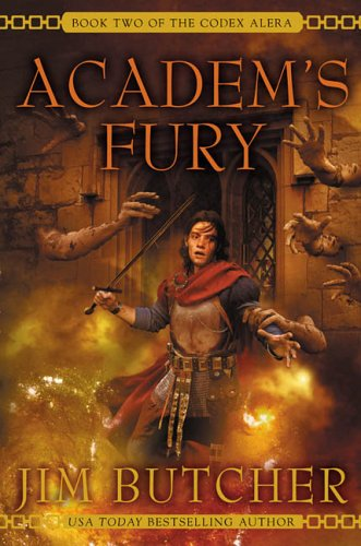 Academ's Fury (Codex Alera, Book 2) -