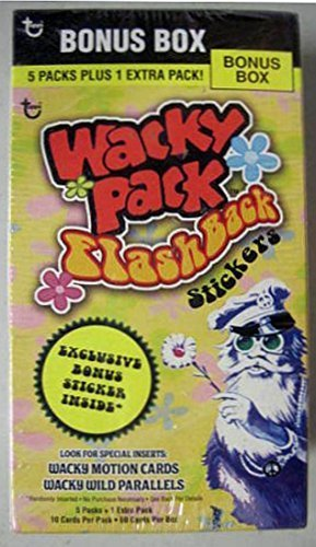 (Wacky Packages Stickers Bonus Box Flashback Series 1 by Topps)