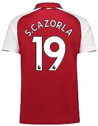 PUMA(プーマ) アーセナルFC ホームユニフォーム 2017/18 [プレミアリーグバッジ付き] [19 S. カソルラ] [サイズ:インポートL] Arsenal FC Home Shirt 2017/18 [Premier League Badge] [19 S. Cazorla] [Size:Import L] [並行輸入品]