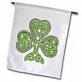 3dRose fl_108308_2″ Celtic Shamrock Garden Flag, 18 x 27 Review
