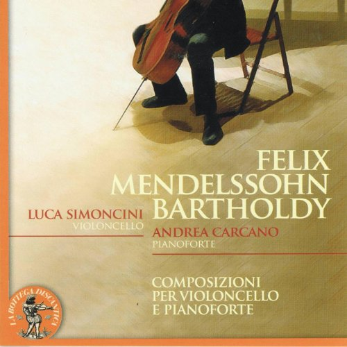 Amazon.com: Felix Mendelssohn Bartholdy : Composizioni per violoncello