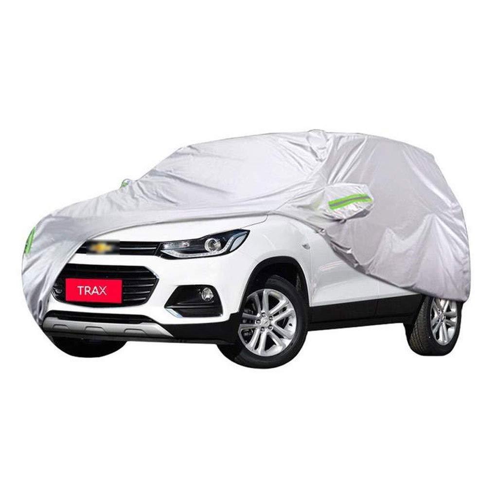 KTYXDE 車のカバー屋内と屋外の厚いオックスフォード布防汚日焼け防止雨暖かいカバーシボレーTRAXモデル 車のカバー (サイズ さいず : 2016) 2016  B07R3T87Y9