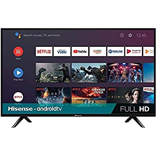 Hisense 40H5590F 40 H55 Series HD Android Smart TV (Renewed)