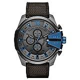 Diesel Mega Chief Analog Grey Dial Men's Watch-DZ4500