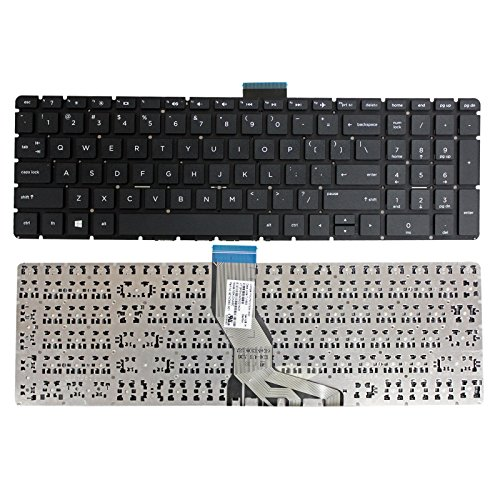 GinTai Laptop US Keyboard Replacement for HP Compatibe with 15-bw078cl 15-bw088cl 15-bw098cl 15-bw500 15-BS071NR 15-BS075NR 15-BS077NR 15-BS015DX 15-BS078CL 15-BS016DX 15-BS062ST 15-BS087NR