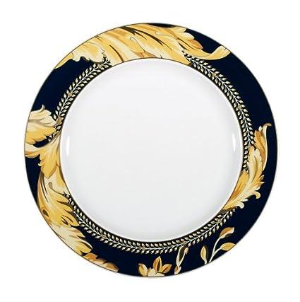 Versace by Rosenthal Vanity Salad/Dessert Plate  sc 1 st  Amazon.com & Amazon.com | Versace by Rosenthal Vanity Salad/Dessert Plate ...