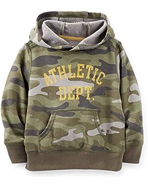 Carter's Baby Boys' Sweatshirt Hoodie Althletic Dept -Camo
