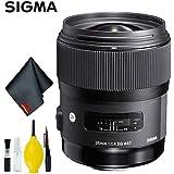 Sigma 35mm f/1.4 DG HSM Art Lens for Canon EF Standard Kit