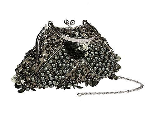 Wallets Messenger Party modellato Dinner Zlulu Clutches F modellata borsa offrire Bag tracolla Evening Handbag realizzato The a Ladies per E a5qpqRw