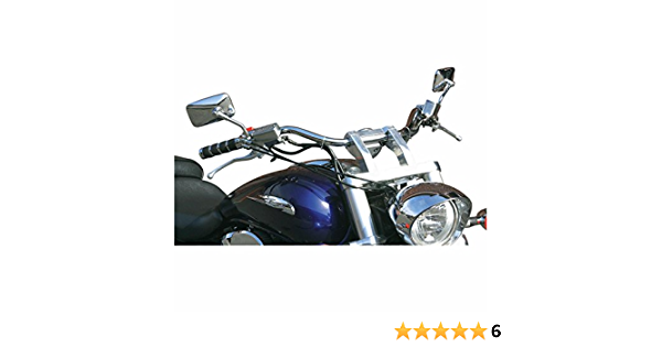 Baron Custom Accessories 1 Chrome 4 X-Bar Handlebar BA-7360-00