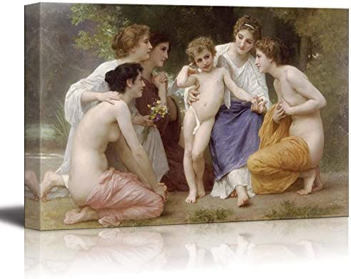 Admiration by William Adolphe Bouguereau