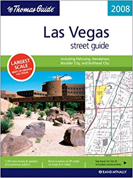 :ZIP: The Thomas Guide 2008 Las Vegas Street Guide. previa Antonio photos tienes Fieldbus