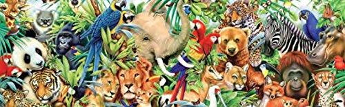 Ceaco Panoramic - Jungle Puzzle - 700 Pieces (700 Piece Puzzle Panoramic)