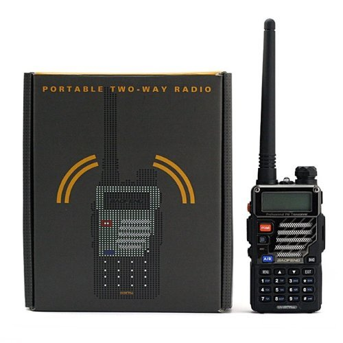 Fm Plus Radio (BaoFeng UV-5R+ Dual-Band 136-174/400-480 MHz FM Ham Two-Way Radio (Black))