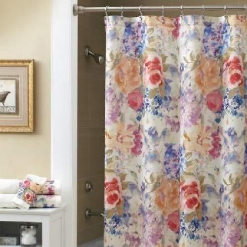 Amazon Croscill Ariel Shower Curtain Home Kitchen