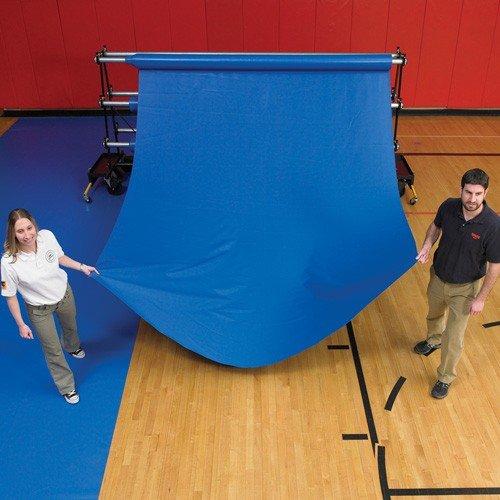 Ssn 1375310 32 oz Pre-Cut Gym Floor Cover44; Royal Blue