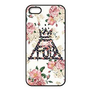 Fall Out Boy Design a Customized Cover Case for when iPhone 5 5s 5s-417 dependent &hong hong customize
