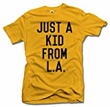 JUST A KID FROM L.A. XL Gold Men's Tee (6.1oz)