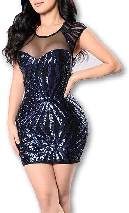 Vestidos De Fiesta Cortos De Moda Vestido De Mujer Casual Elegante Noche 50/% OFF
