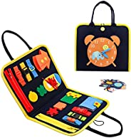 Toddler Toys for 1 2 3 4 Years Old Girls Boys, Busy Board Montessori Toys for Toddlers Age 1 2 3 4, Sensory To