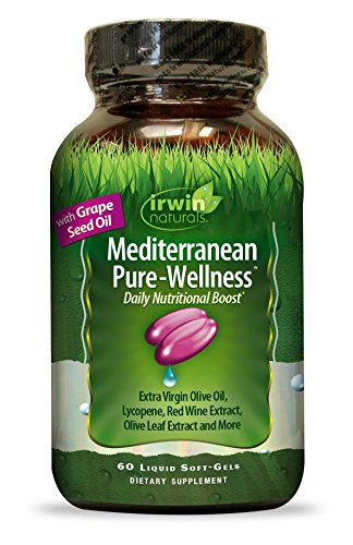 Irwin Naturals Mediterranean Daily Wellness Supplement, 60 Count