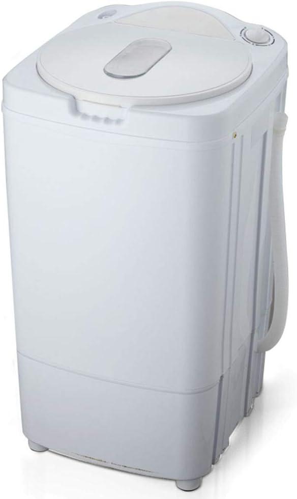 Sunjun Mini deshidratador de Barril Solo hogar, Secadora Secadora Rotatoria deshidratación cantidad 7KG 320W (Verde Blanco) Dormitorio Sala de baño Cuarto de baño, etc. (Color : Blanco)
