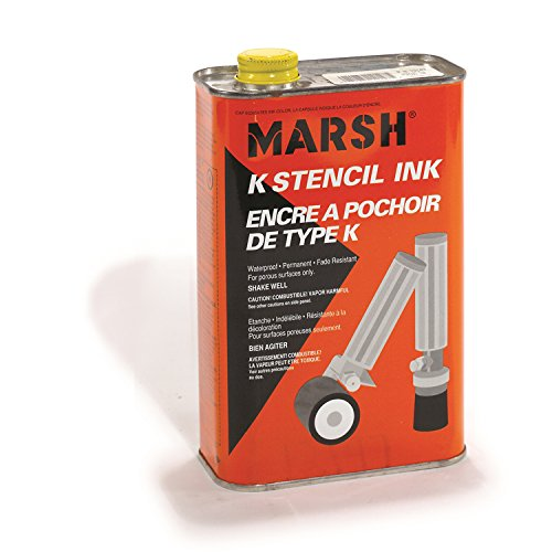 C.h. hanson Metal Rolmark Stencil Inks - 12164 SEPTLS33712164 by C.H. Hanson