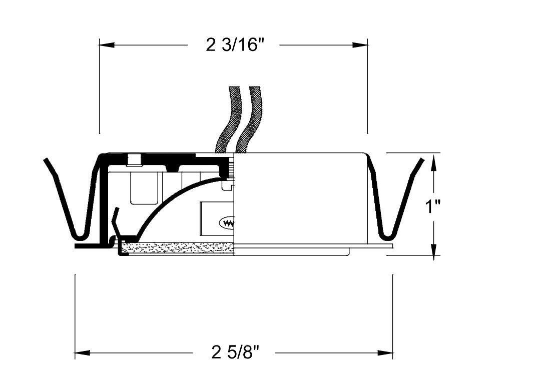 wac transformer wiring diagrams wiring diagram third co amazon com wac lighting hr86db recessed button light dark bronze housing wiring diagrams wac transformer wiring diagrams