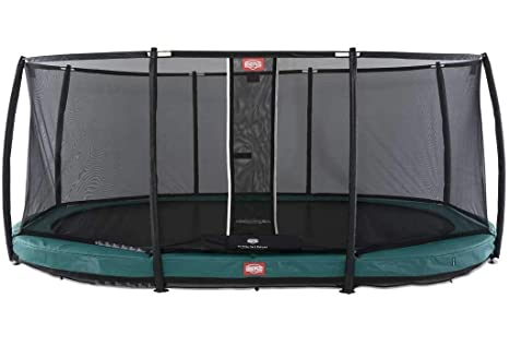 BERG Grand Champion InGround 520 Trampoline + Safety Net Deluxe ...