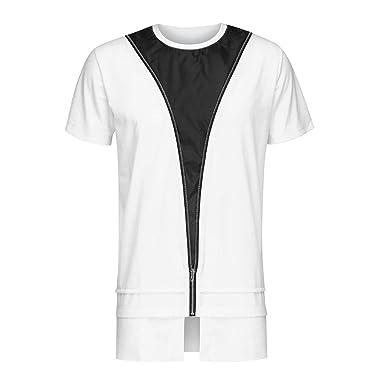 Amazon.com: Hipster Hip Hop - Camiseta de manga corta para ...