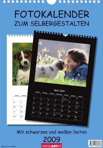 Fotokalender zum Selbermachen schwarz/weiß 2009